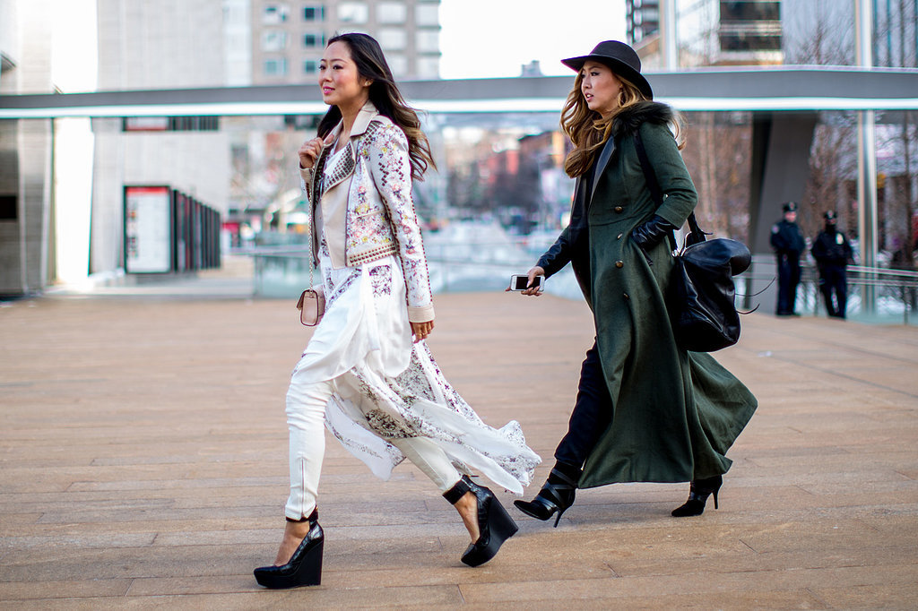 Street style style ambitions New york fashion week street style fall 2014