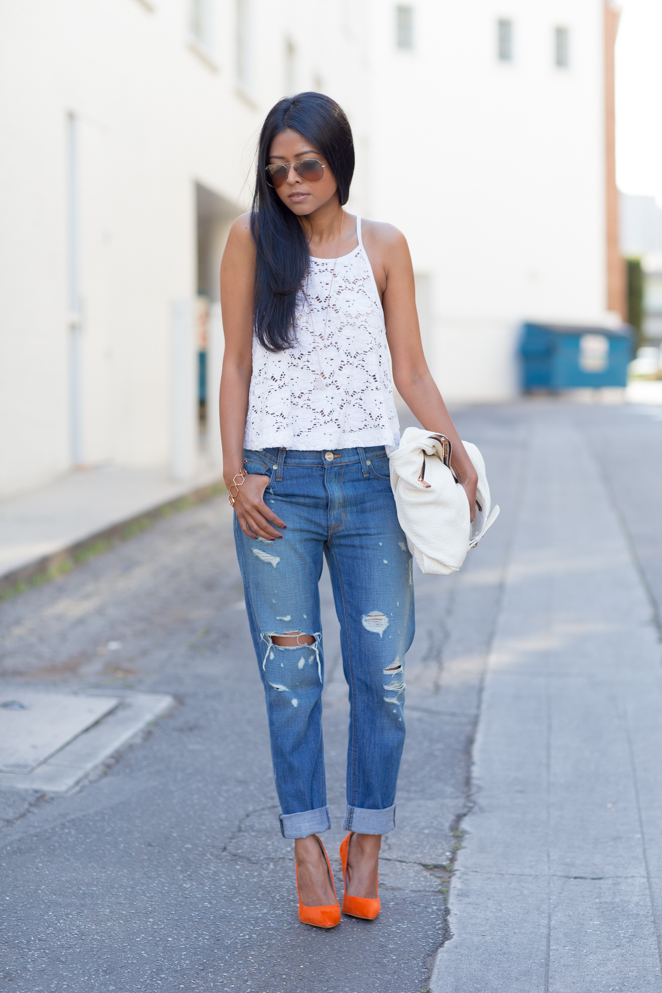 Express_Eyelet_Top_Hudson_Boyfriend_Jeans_Shoemint_classic_Orange_pumps_MerChar_Handbag_Nissa_Jewelry_LA_Streetstyle-4